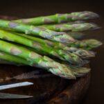 asparagus, green asparagus, green